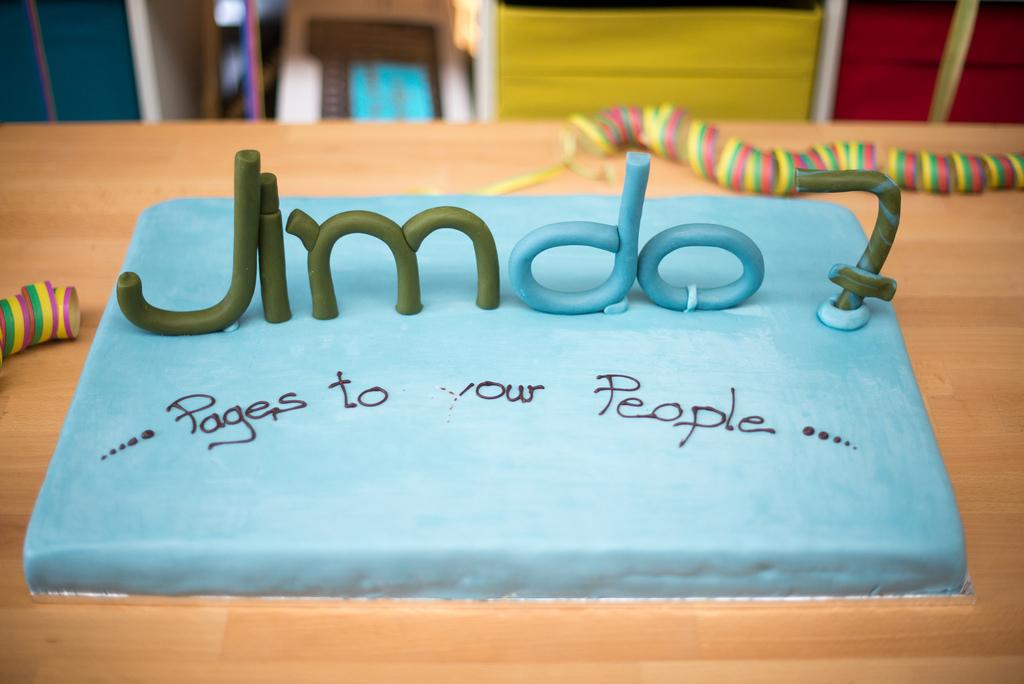 Anfang 2014 feierte Jimdo seinen 7. Geburtstag. Bald muss ein neuer Kuchen gebacken werden. (Foto: Jimdo)