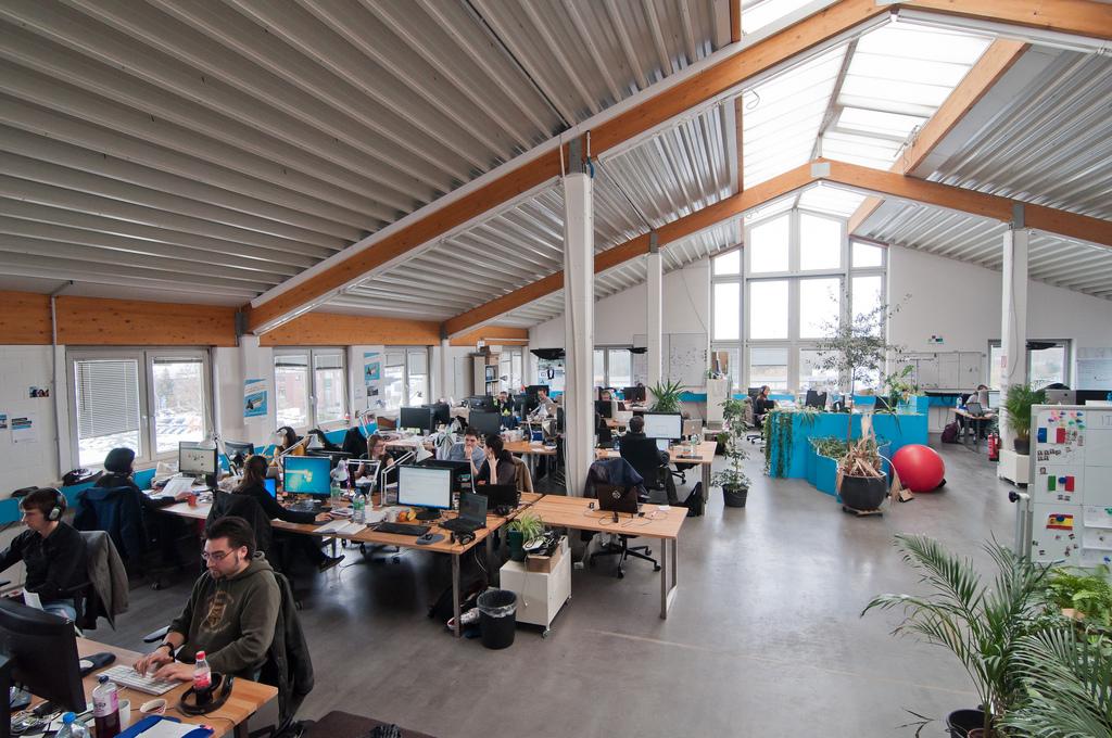 Einer von mehreren Büroräumen bei Jimdo in Hamburg. (Foto: Jimdo)