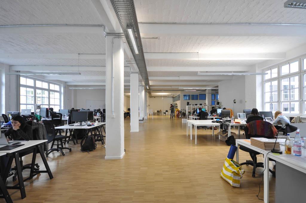Das Unternehmen ist erst vor ein paar Monaten in ein neues Büro an der Kohlfurter Straße in Berlin gezogen.