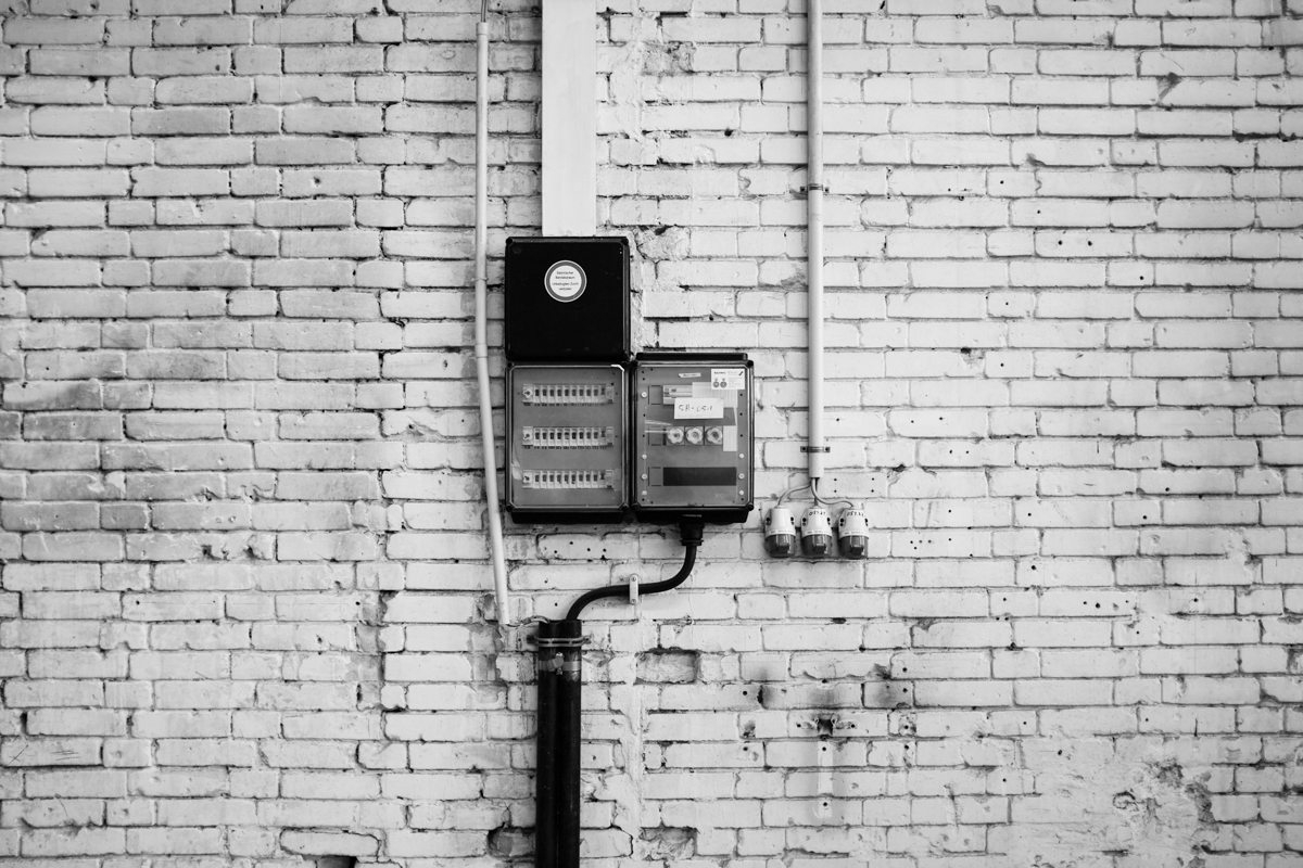 Stromversorgung.